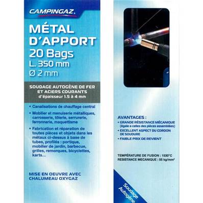 METAL D'APPORT 20 BAG D2