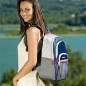 SAC A DOS ISOTHERME BACPAC 12L BLEU FONCE
