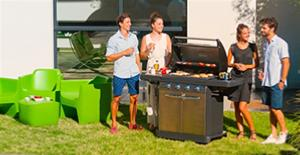 Barbecue gaz Master 4